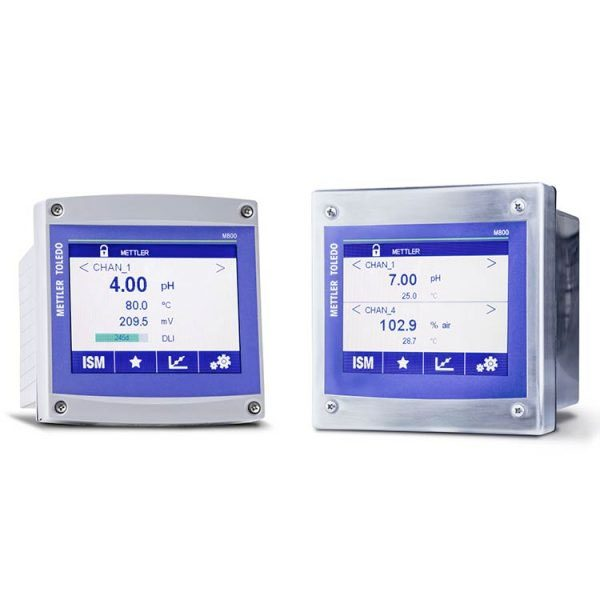 pH analyzer transmitter Mettler Toledo M800