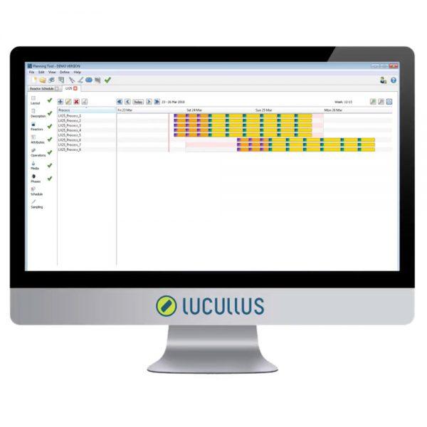 PIMS planning calendar scheduler for equipment utilization