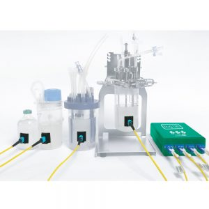 Non-invasive multiplexed biomass monitor miniBE