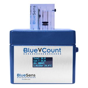 gas volume measuring devices BlueVCount